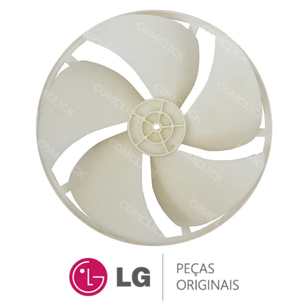 Hélice Externa do Ventilador 5901A20011B Ar Condicionado LG WHE076FGA, WHE080FG, WHM080FG