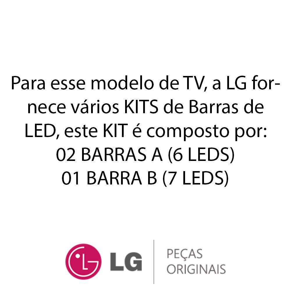 KIT Barras de LED (3 Barras) TV LG 32LN536B, 32LN5400, 32LN540B, 32LN546B