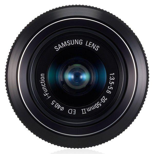 Lente Externa Intercambiável EX-S2050NB 20-50MM Preta para Câmera Samsung NX10, NX100, NX200, NX1000