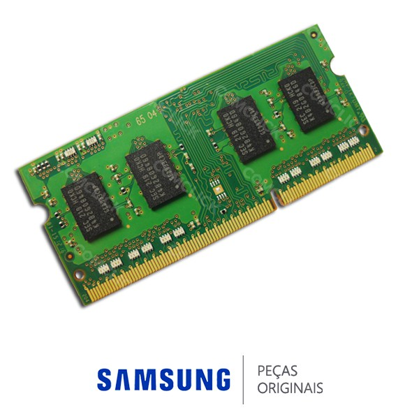 Memória RAM 2GB DDR3 1600MHZ AA-MM2DR31/US para Notebook, Netbook e Ultrabook Samsung