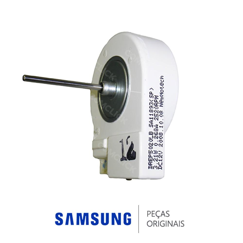 Motor do Ventilador Interno DREP5020L DC12V 2520RPM  para Refrigerador Samsung Diversos Modelos