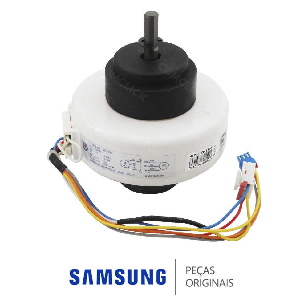 Motor Y4S476A58 220V do Ventilador da Evaporadora para Ar Condicionado Samsung AQV09NSB, AQV09VBE