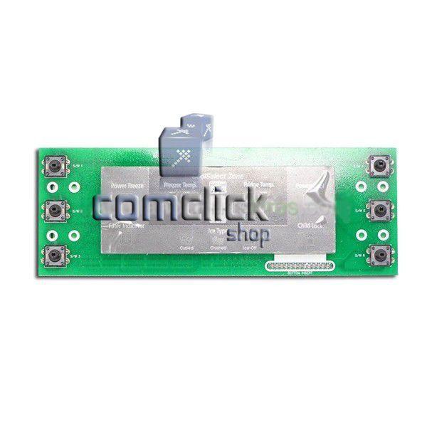 Placa de Controle do Painel da Porta do Freezer Refrigerador Samsung RS27KASW1, RS27KGRS1, RS27KLBG1