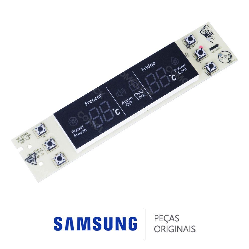 Placa de Controle do Painel da Porta para Refrigerador Samsung RL62TCPN, RL62TCSW
