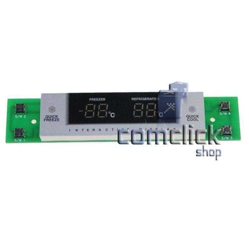 Placa de Controle do Painel da Porta para Refrigerador Samsung SR-L629EV, SR-L629EV, SR-L629EVSS