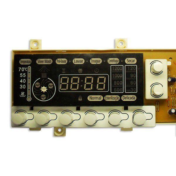 Placa de Função / Interface para Lava e Seca Samsung WM1245ADS