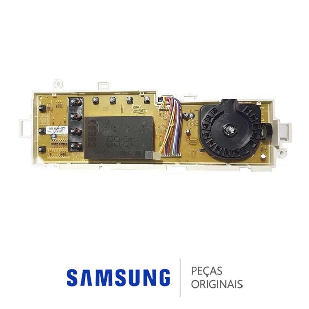 Placa Display  / Interface 110/220v para Lavadora Samsung WF1124XBC, WF1124XBCF