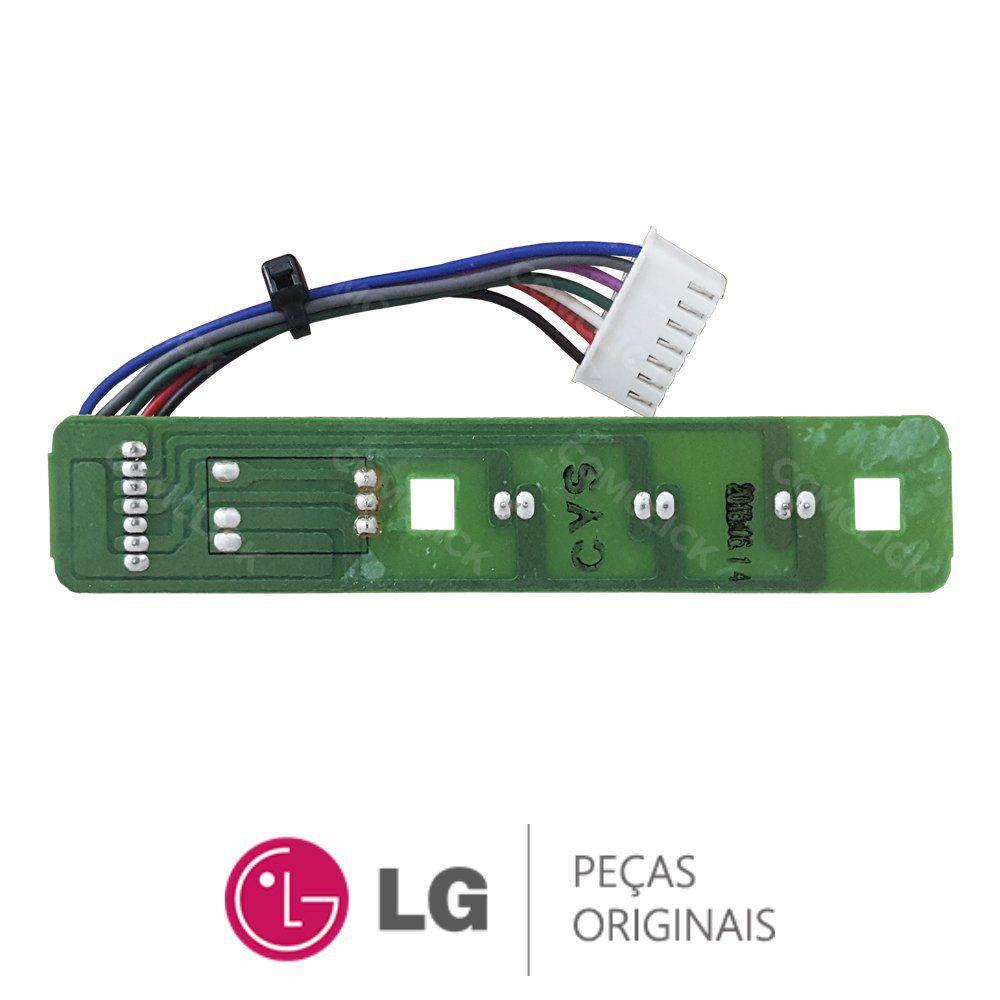 Placa Display / Receptora 6870AQ3172A 6871AQ3174D 6871AQ3174C Ar Condicionado LG LS-H0560CL SHN061FA