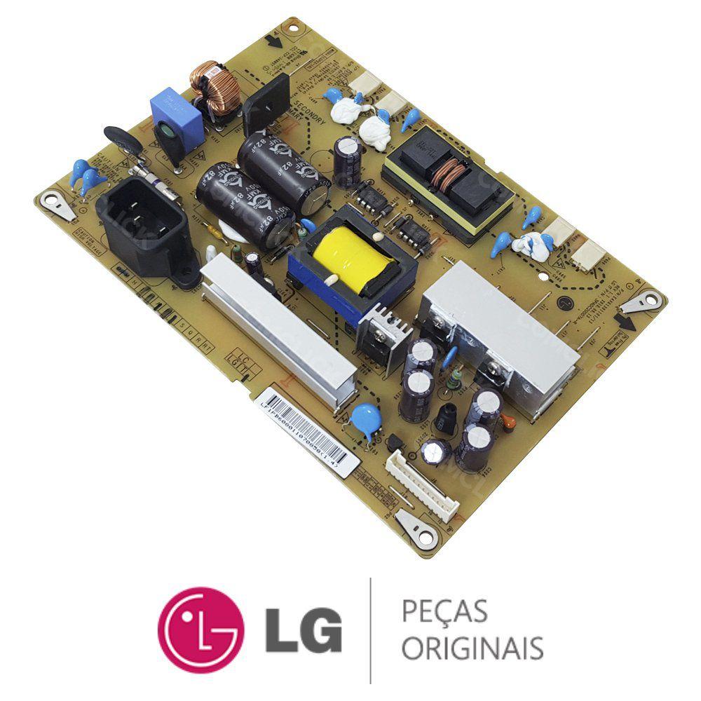 Placa Fonte LGP22-10L EAX61391101/13 / EAY60801101 Monitor TV LG 22LD330, 22LK310, 22LK311C