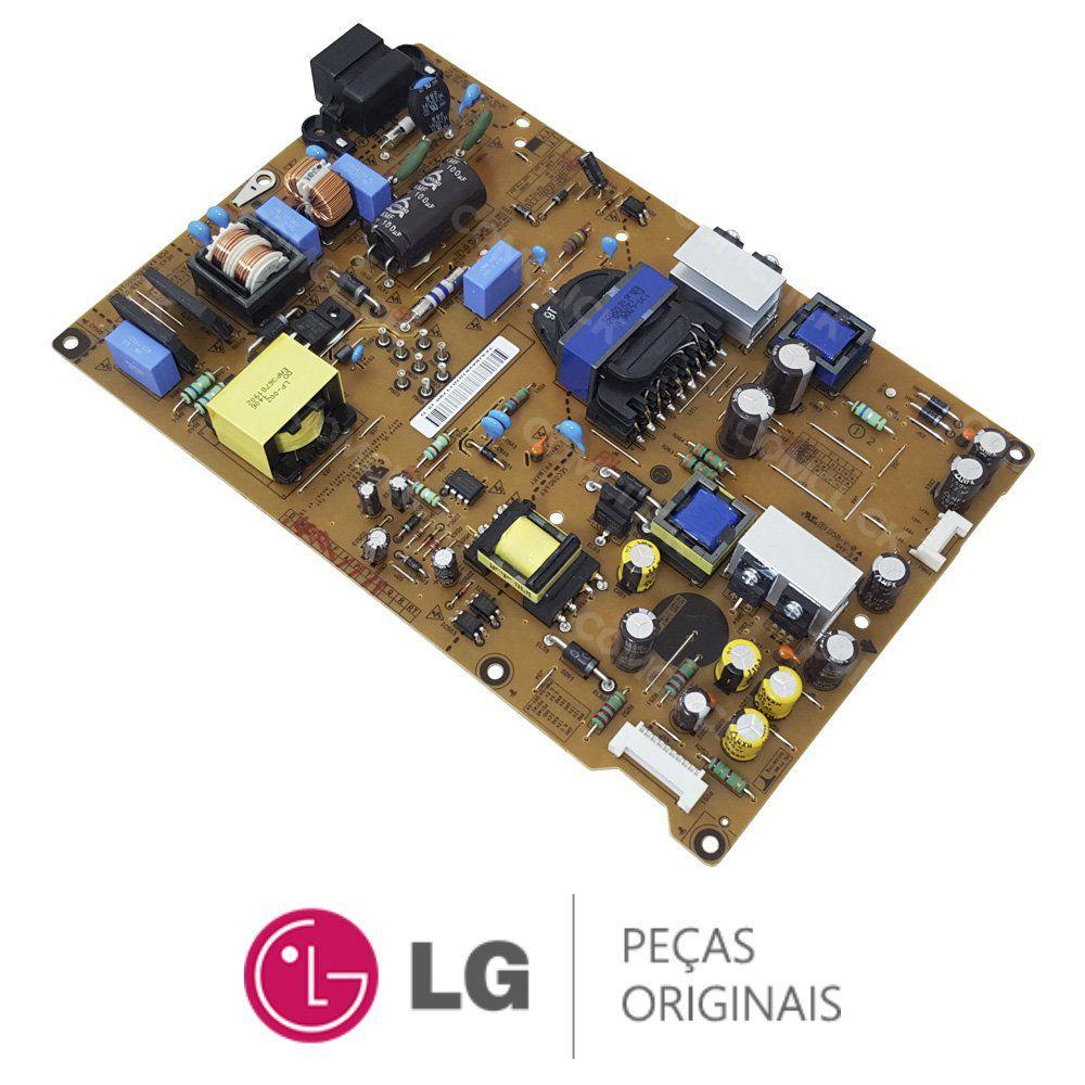 Placa Fonte LGP55-13PL2 EAX64905601 / EAY62810701 TV LG 55LA6130, 55LA6200, 55LA6214, 55LN5400