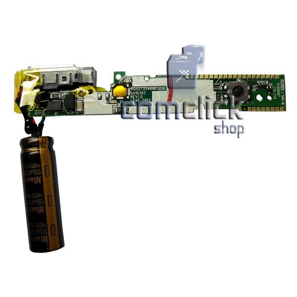 Placa PCI Flash Completa com Capacitor e Estrobo para Camera Digital Samsung L201
