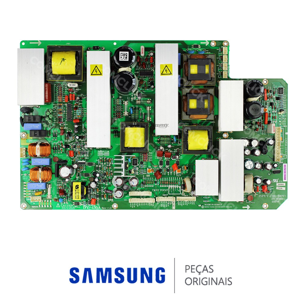 Placa PCI Fonte DY-450A, DYH0509 para TV Samsung PL42S5SC, PL42S5SC, PL42S5SX, PPM42M5SBX