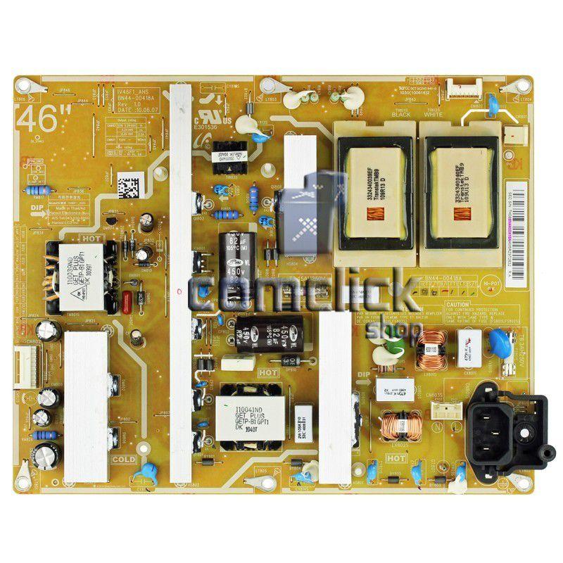 Placa PCI Fonte I46F1_AHS para TV Samsung LN46C530F1M, LN46C550J1M, LN46C650L1M