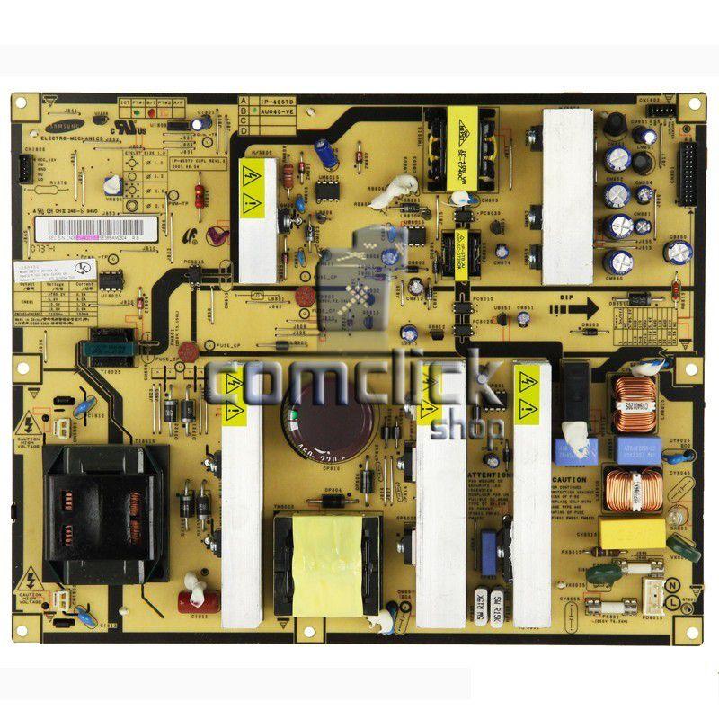 Placa PCI Fonte IP-231135A, IP-40STD para Tv Samsung LN40M81BX, LN40R71BAX, LN40F81BDX