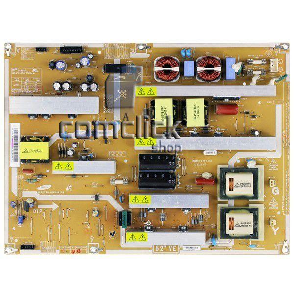 Placa PCI Fonte IP-361135A para TV Samsung LN52A610A1R, LN52A610A3R, LN52A650A1F, LN52A900G1F