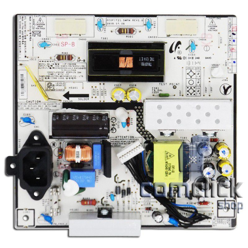 Placa PCI Fonte IP-54135B para Monitor / TV Samsung LS22EMSKUMZD (P2270HN)