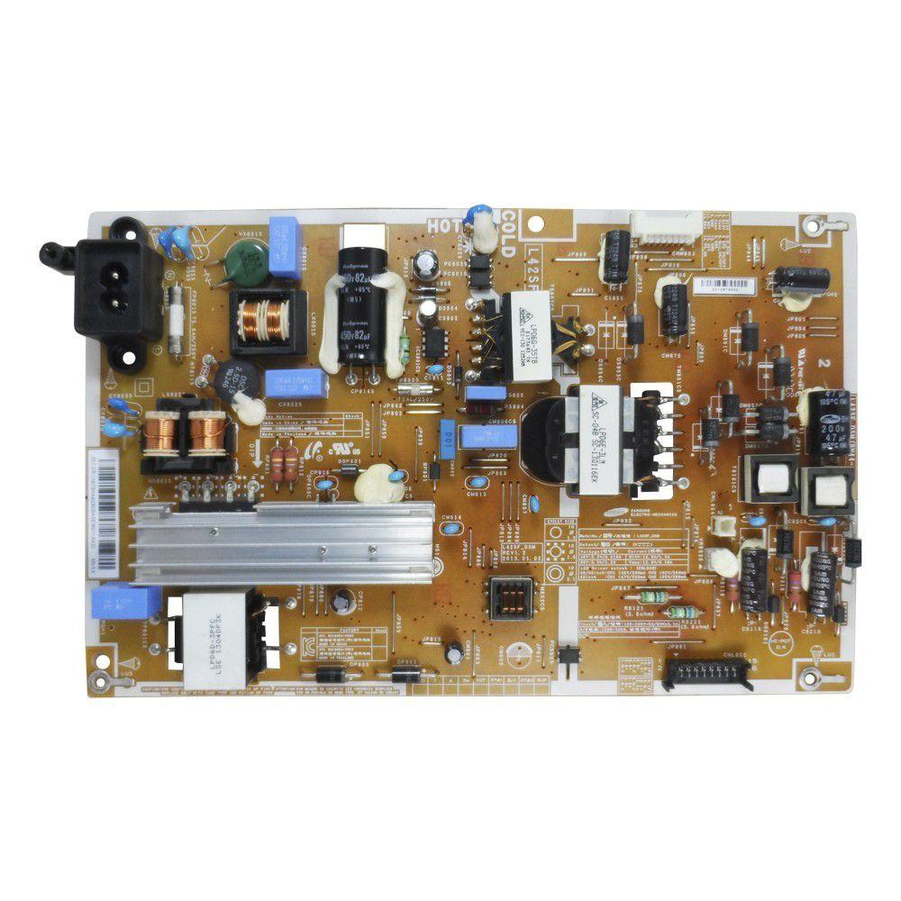 Placa PCI Fonte L42SFV_DSM, L42SFV_DS para TV Samsung UN40F5200AGXZD, HG40NB670FGXZD