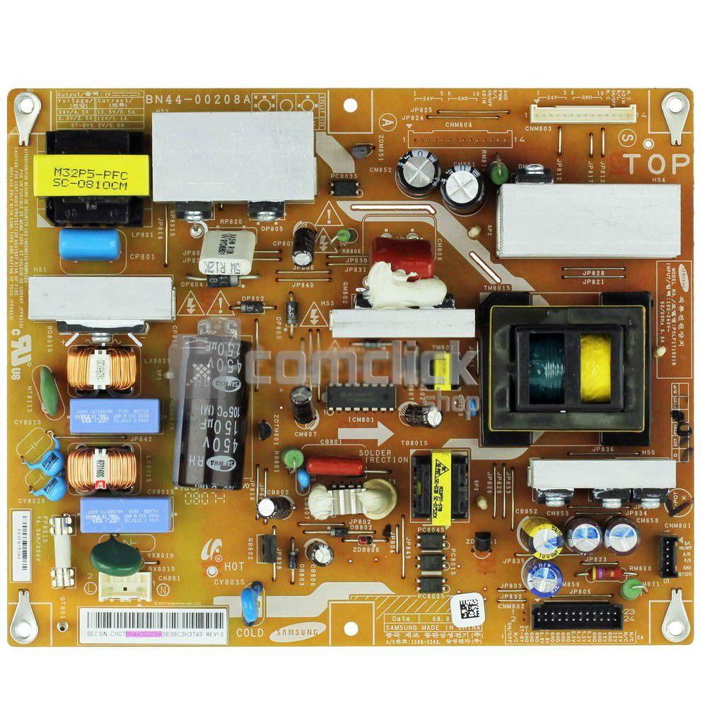 Placa PCI Fonte MK32P5T para TV Samsung LN32A610A3R, LN32A330J1, LN32A550P3R, LN32A610A1R