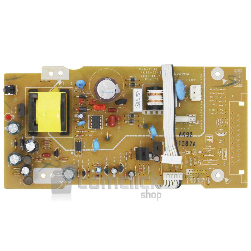 Placa PCI Fonte para DVD Samsung P170