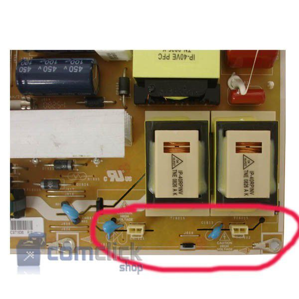 Placa Pci Fonte para Tv Samsung LN40A330J1, LN40A450C1, LN40A550P3R, LN40A650, LN40A610