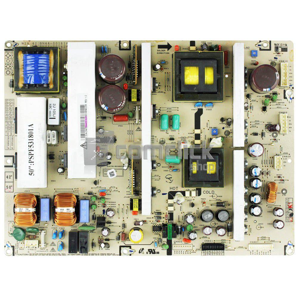Placa PCI Fonte para TV Samsung PL50C91HX/XAZ