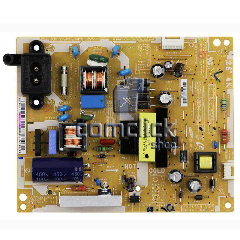 Placa PCI Fonte PD26AV0_CSM, PSLF360A para TV Samsung HG26NA470PGXZD, UN26EH4000GXZD