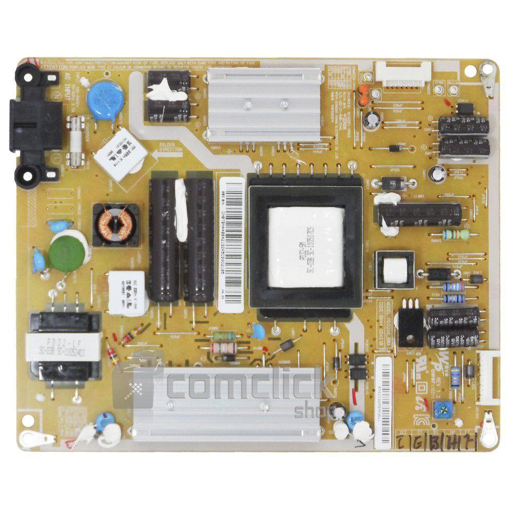 Placa PCI Fonte PD32A0_BSM, PSLF800A0 para TV Samsung UN32D4000NG, UN32D5000PG, UN32D5500RG