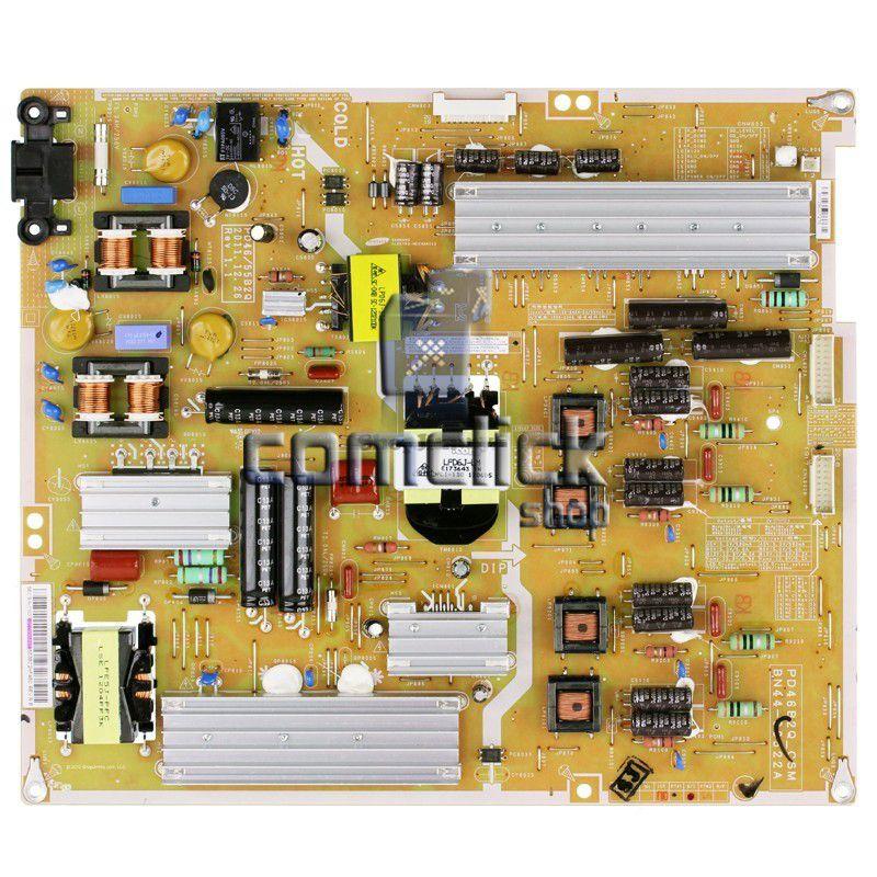 Placa PCI Fonte PD46B2Q_CSM, PSLF131Q para TV Samsung UN40ES7000G, UN46ES7000G, UN46ES8000G