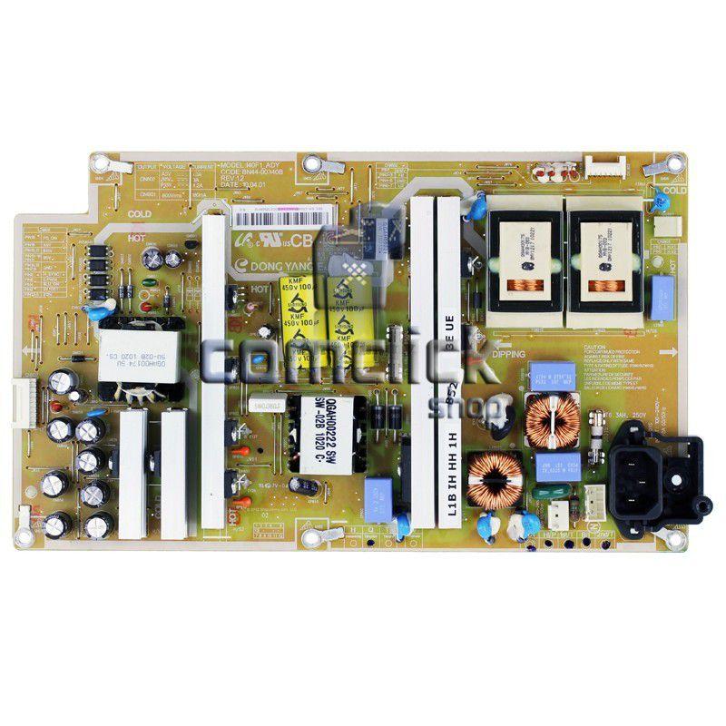 Placa PCI Fonte PSIV231510A  para TV Samsung LN40C530F1M, LN40C550J1M, LN40C630K1M, LN40C650L1M