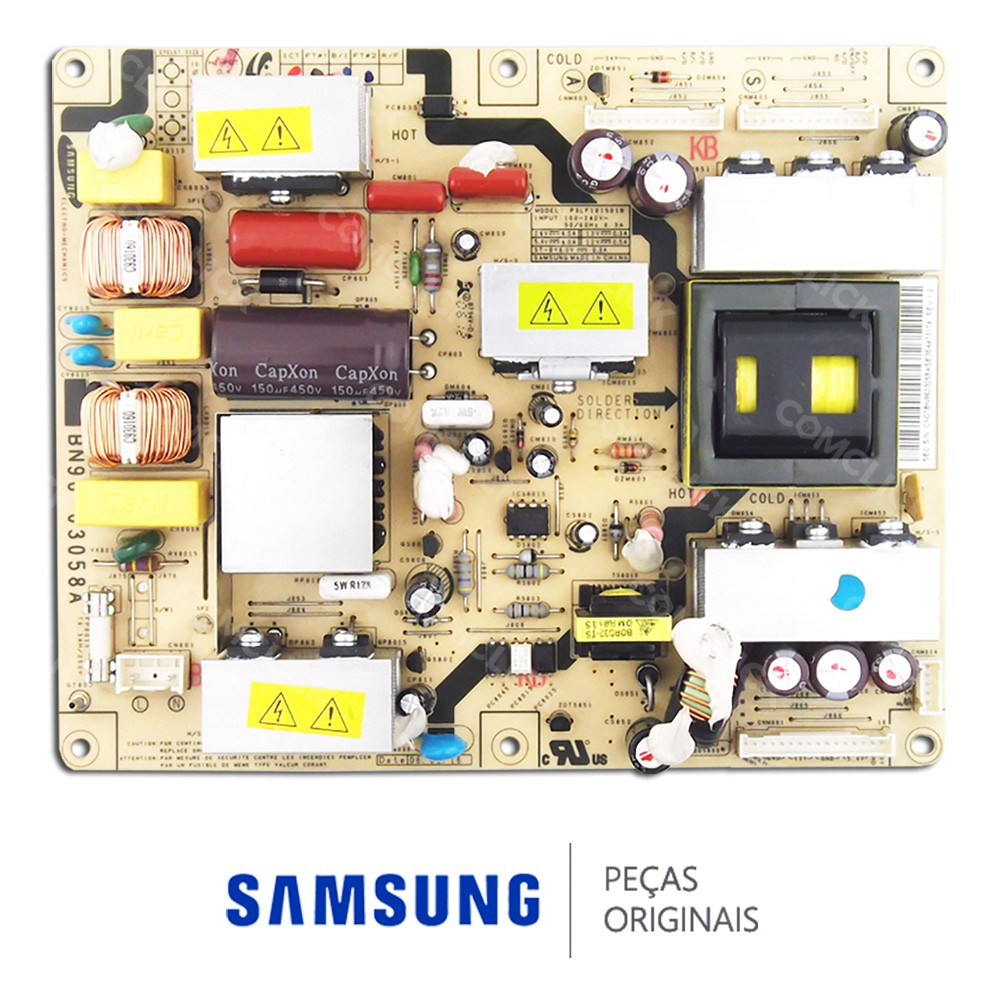 Placa PCI Fonte PSLF181501B para TV Samsung LN26R71BC, LN26R71BX