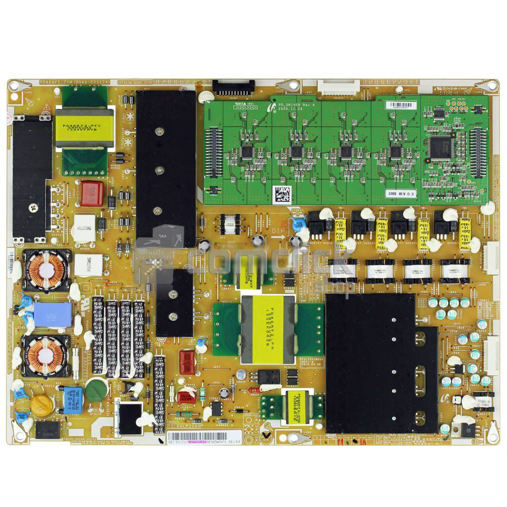 Placa PCI Fonte PSLF251B02 para TV Samsung UN40C7000WM, UN40C8000XM, UN46C7000WM, UN46C8000XM