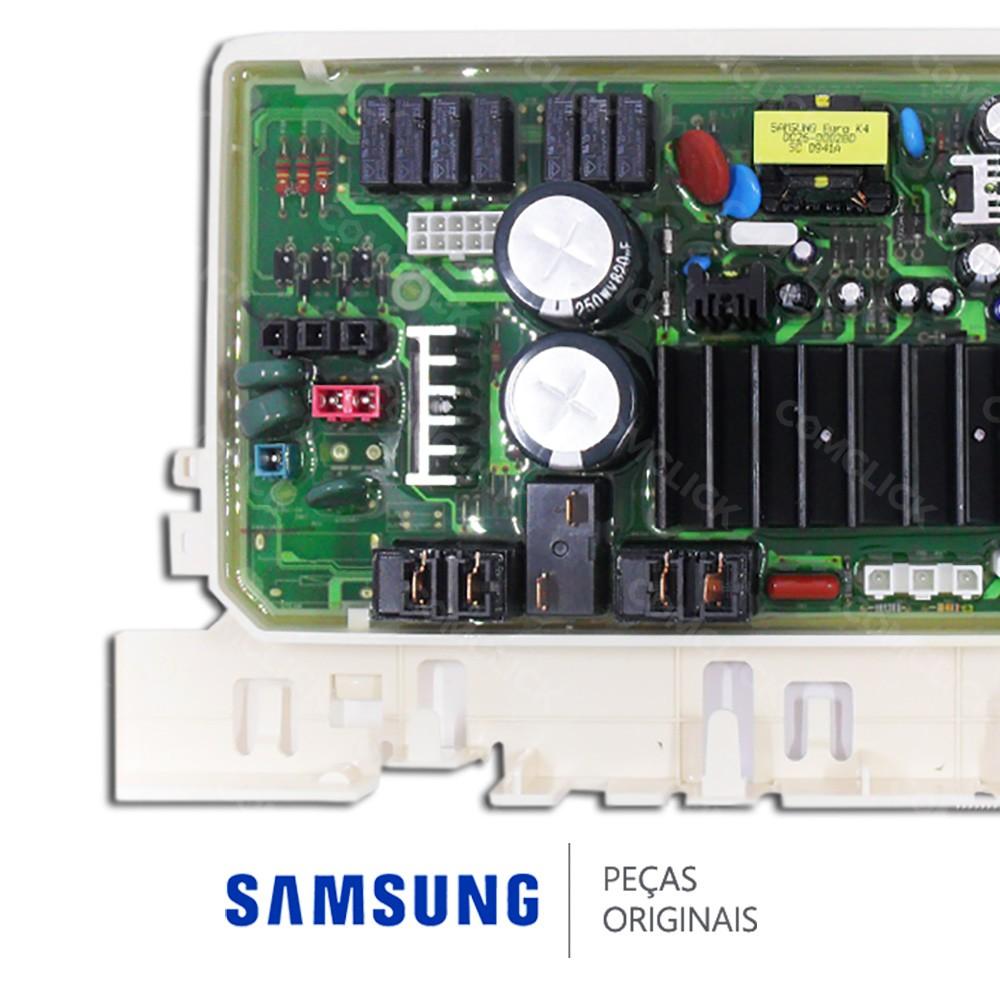 Placa PCI Principal / Potência 110v para Lava e Seca Samsung WD7122CKC, WD7122CKS
