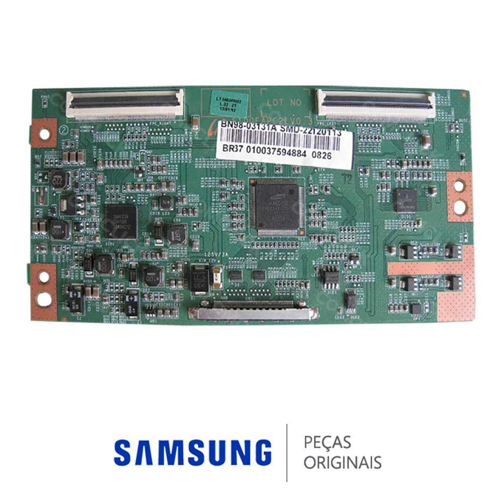 Placa PCI T-CON S100FAPC2LV0.3 para TV Samsung LH46MEPLGHL, UN46D5500RG, UN46D5800VG