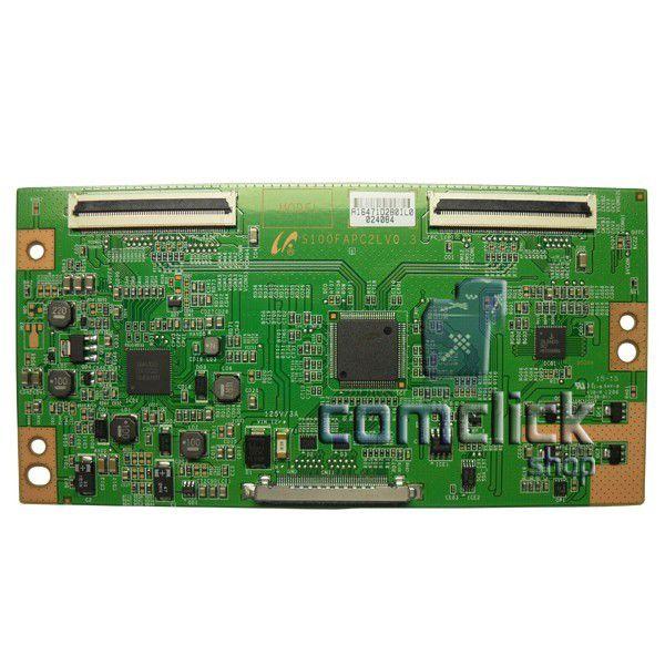 Placa PCI T-CON S100FAPC2LV0.3 para TV Samsung LN40D550K7GXZD, LN40D550K1GXZD
