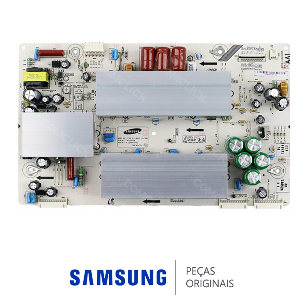 Placa PCI Y-MAIN LJ41-05075A para TV Samsung PL42A450P1, PL42C91HX, PL42E71SX, PL42E91HX, PL42P7HX