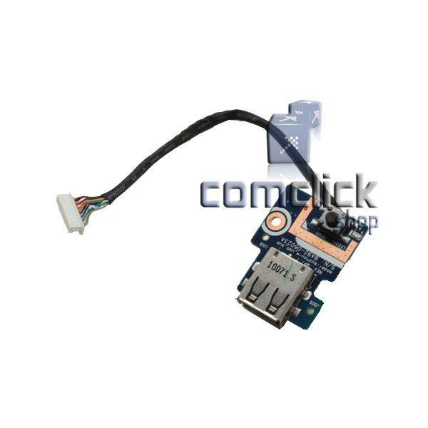 Placa Power ON (Botão Ligar) para Notebook Samsung NP-R430, NP-R440, NP-R480