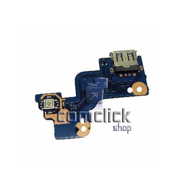 Placa Power para Notebook Samsung NP-RV411, NP-RV415, NP-RV420