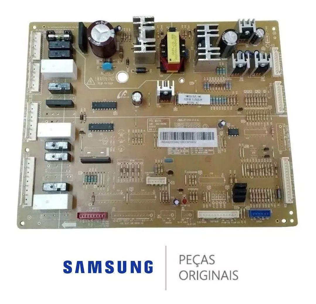 Placa Principal 110v HM10-B/LINE R134a para Refrigerador Samsung RS21HDTSW1, RS21HDTTS1, RS21HDUPN1