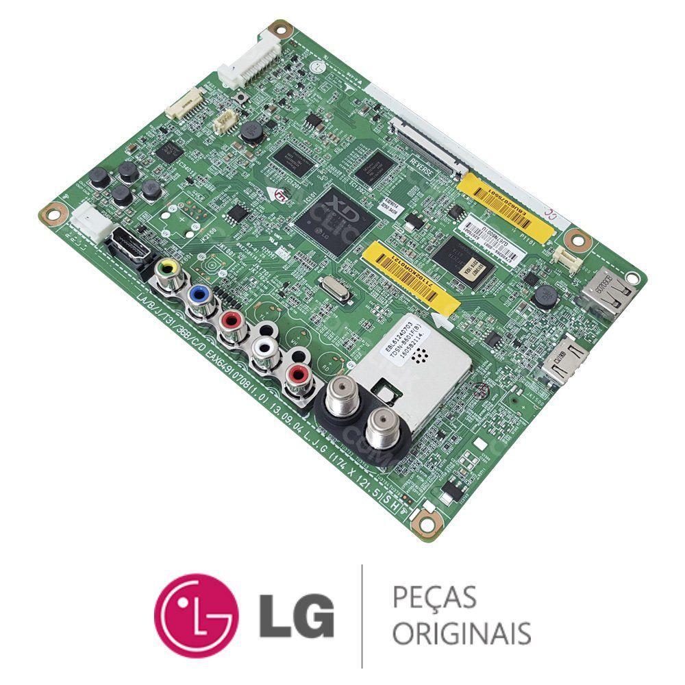 Placa Principal EAX64910708 / EBU62075501 / EBU62075502 TV LG 47LN5460