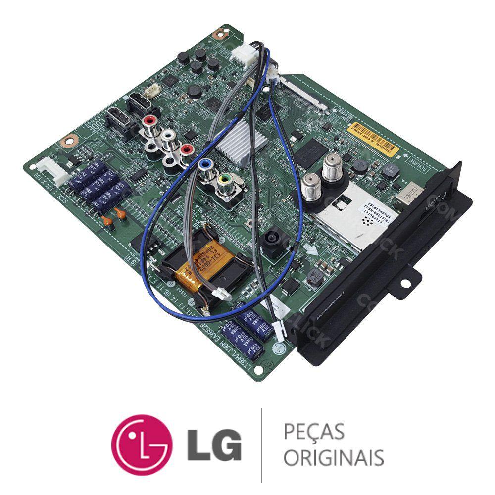Placa Principal EAX65264006 / EAX65264007 / EBT62662701 TV LG 42LN5460