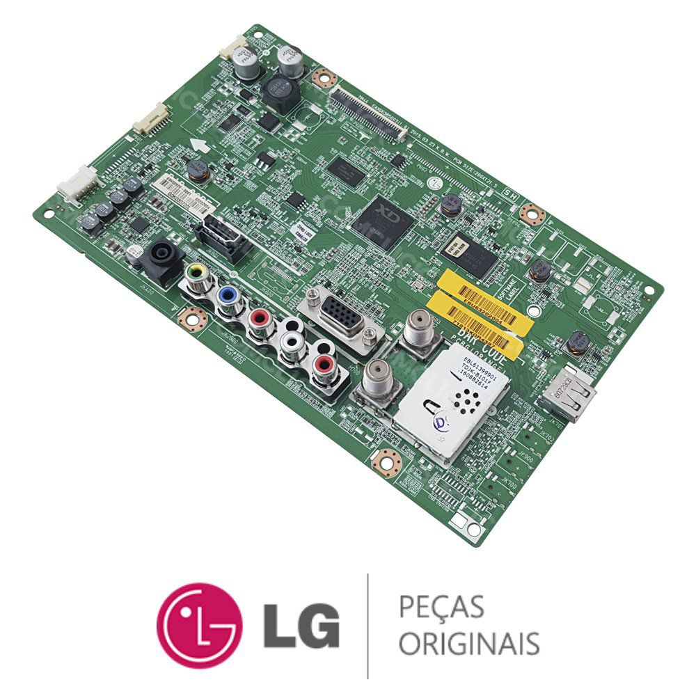 Placa Principal EAX66385003 / EBU63202004 / EBU63202003 Monitor TV LG 24MT47D
