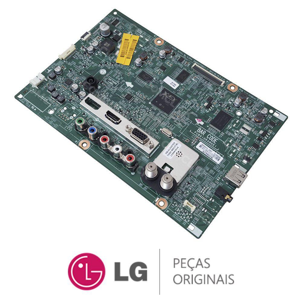 Placa Principal LJ31A EAX65077303 / EBU61990506 / EBU62036102 Monitor TV LG 24MN33D