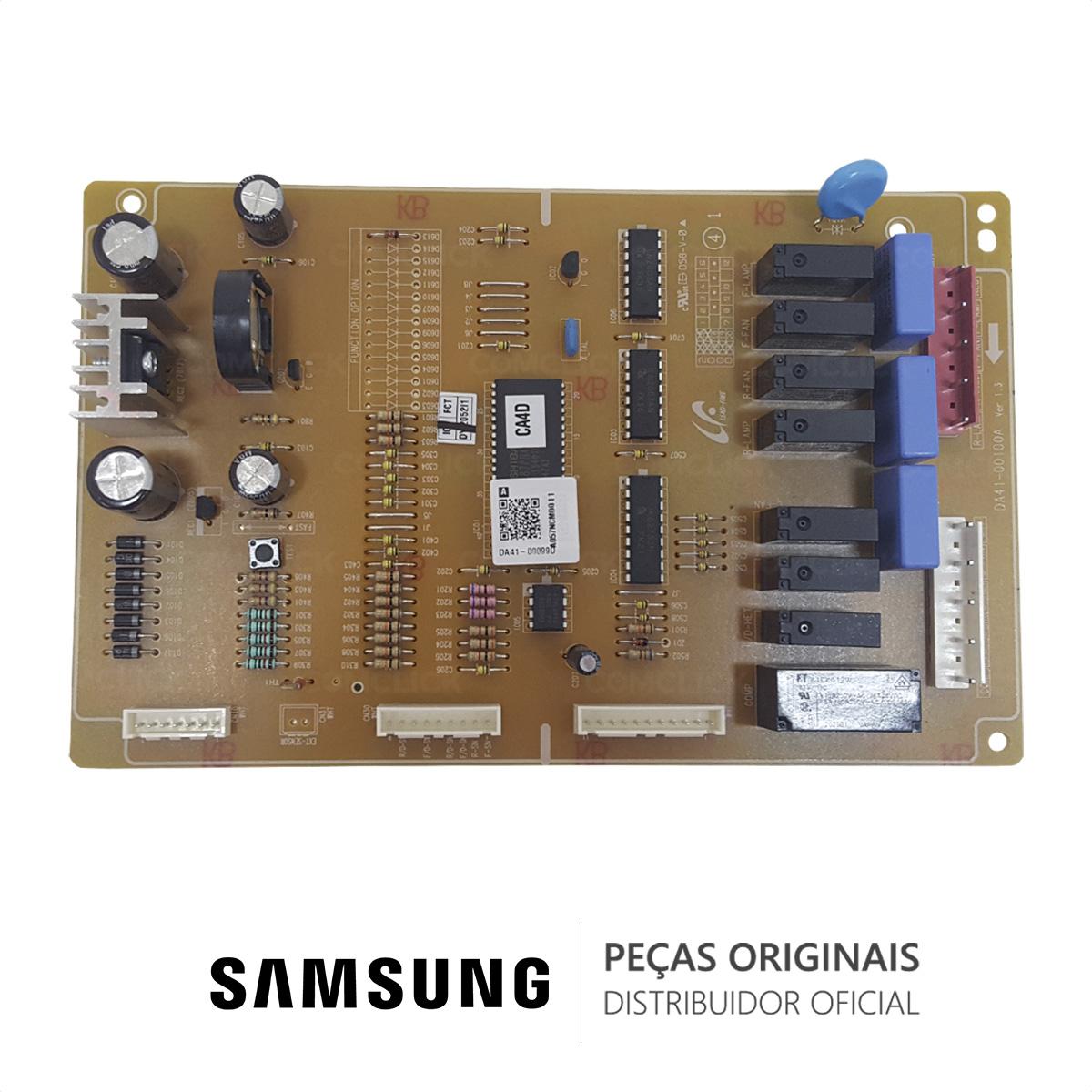 Placa Principal / Potência DA41-00099D DA41-00099B Refrigerador Samsung SG629ECSWC SG629EPNSC