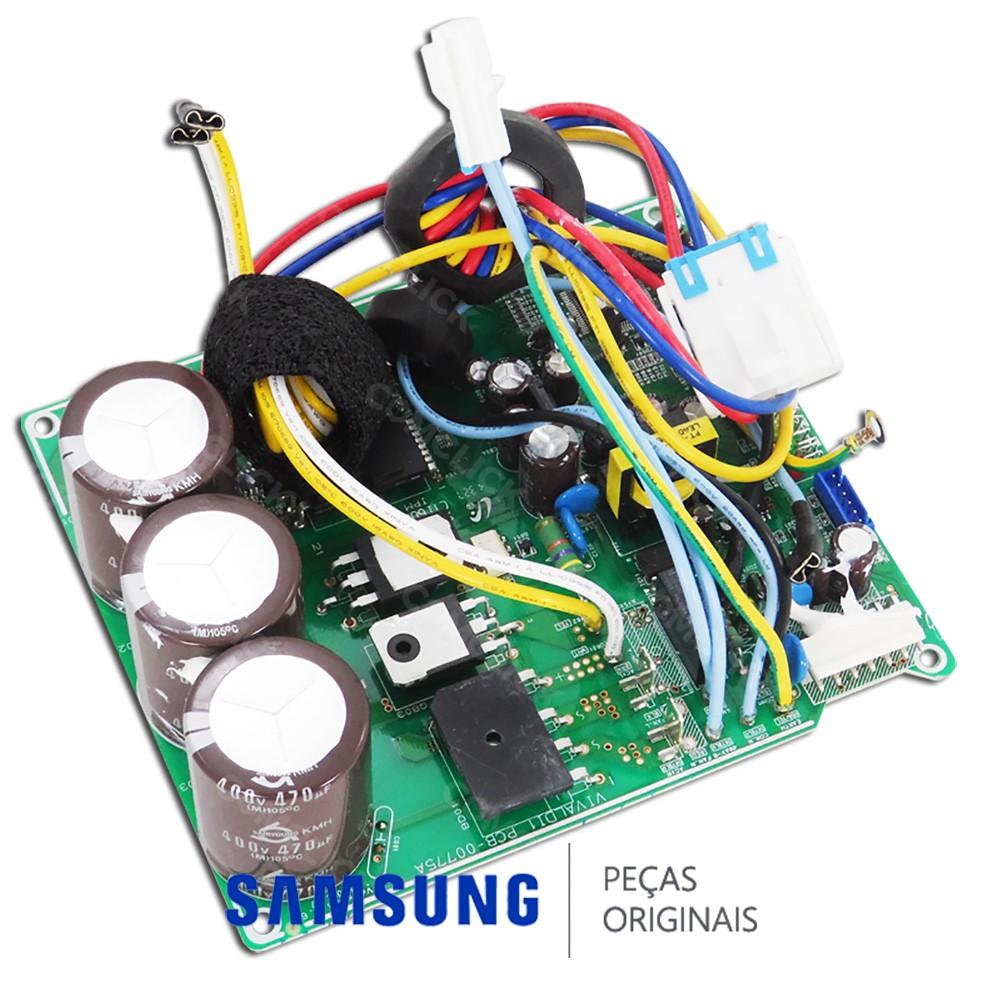 Placa Principal / Potência da Condensadora para Ar Condicionado Samsung Inverter AQV12VBE