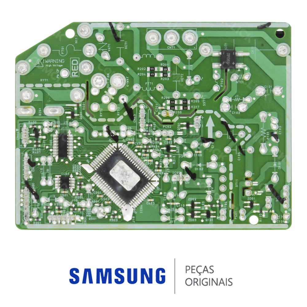 Placa Principal / Potência da Evaporadora Ar Condicionado Samsung AS09UBT, AS12UBT, AS12UBTN