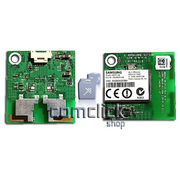 Placa Receptora Wireless para Blu-Ray e Home Theater Samsung BD-D6500, HT-D5500K, HT-D5550WK, HT-D6750WK