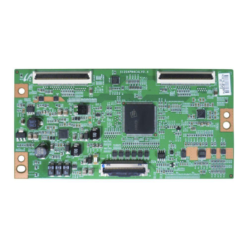 Placa T-CON S120APM4C4LV0.4 para TV Samsung LN46C650L1M