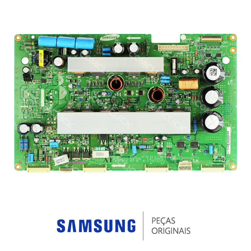 Placa Y-MAIN, Y-SUS LJ41-03424A LJ92-01337A para TV Samsung PL42S5SC, PL42S5SC, PL42S5SX, PPM42M5SBX