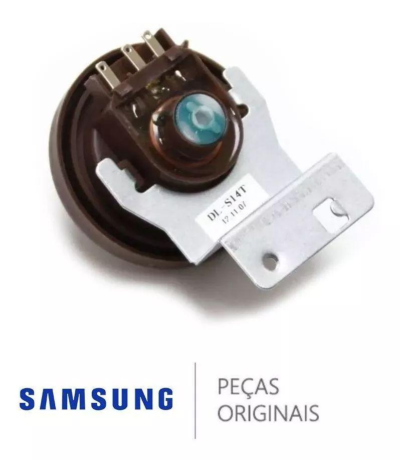 Pressostato / Sensor de Pressão da Água para Lavadora e Lava e Seca Samsung Diversos Modelos