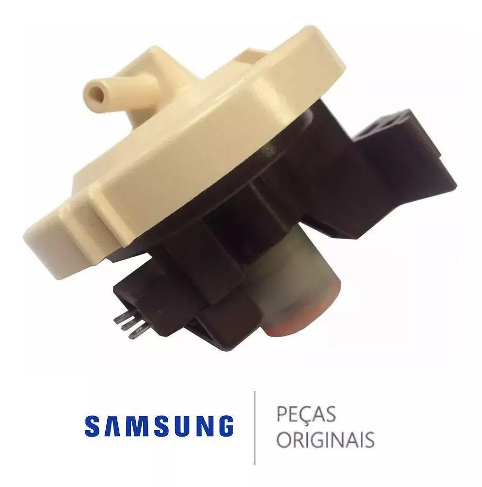 Pressostato / Sensor de Pressão da Água para Lavadora e Lava e Seca Samsung WD0854, WD106, WD1142, WD136, WD856, WD8854, WF106,
